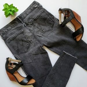 MOTHER The Looker Ankle Fray Jeans Rebels & Lovers